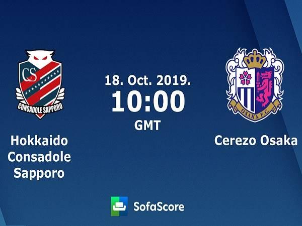 Nhận định kèo Consadole Sapporo vs Cerezo Osaka, 17h00 ngày 18/10