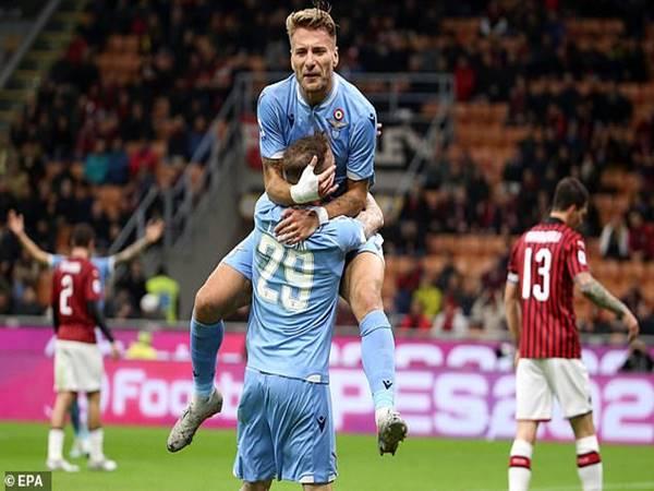Lazio lần đầu thắng tại San Siro sau 30 năm
