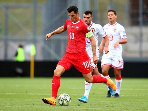 Nhận định bóng đá Gibraltar vs Thụy Sỹ (2h45 ngày 19/11)