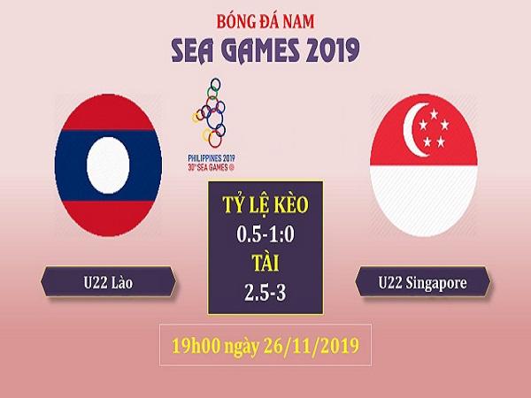Nhận định kèo U22 Lào vs U22 Singapore, 19h00 ngày 26/11