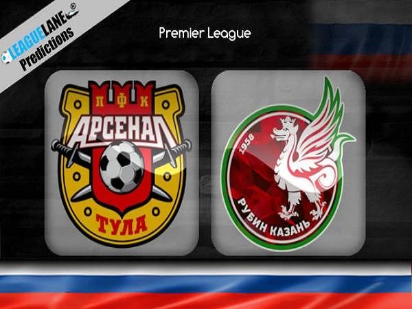 Nhận định Arsenal Tula vs Rubin Kazan, 23h00 ngày 14/3