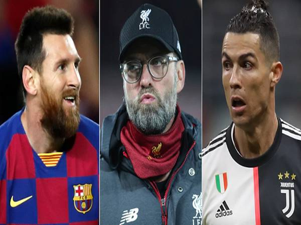 Klopp đánh giá Messi cao hơn Ronaldo
