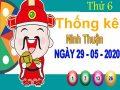 Thống kê XSNT ngày 29/5/2020 – Thống kê KQXS Ninh Thuận thứ 6