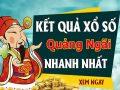 Soi cầu dự đoán XS Quảng Ngãi Vip ngày 24/10/2020