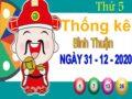 Thống kê XSBTH ngày 31/12/2020 – Thống kê xổ số Bình Thuận thứ 5