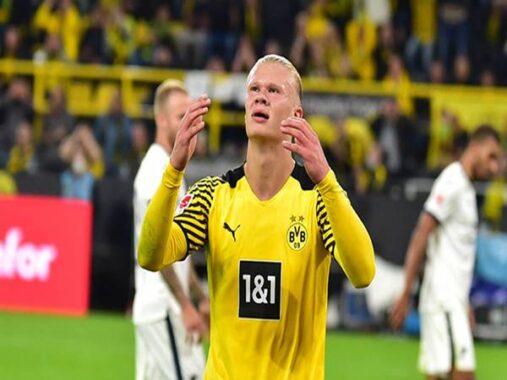 Bóng đá QT 11/9: Haaland đang bùng nổ trong màu áo Dortmund